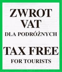 tax free zwrotpodatku dla podróżnych